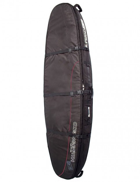 Ocean & Earth Double Coffin Longboard surfboard bag 10mm 8ft 6 - Black