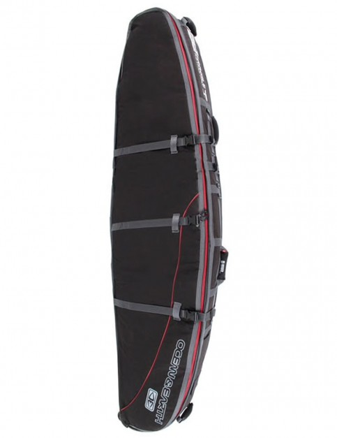 Ocean & Earth GTS Double Wheely Longboard surfboard bag 10mm 8ft 6 - Black