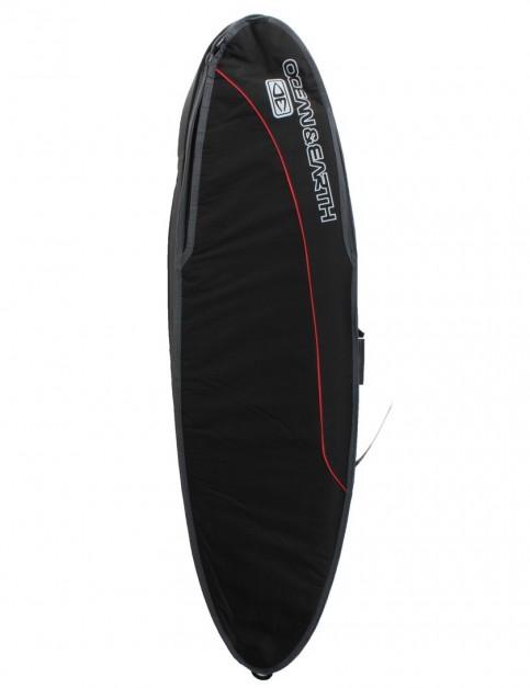 Ocean & Earth Triple Compact Shortboard surfboard bag 10mm 6ft 0 - Black