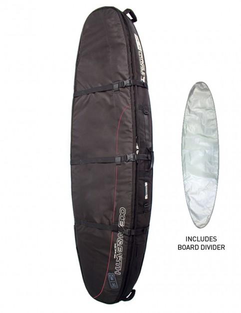 Ocean & Earth Double Coffin Shortboard surfboard bag 10mm 7ft 6 - Black