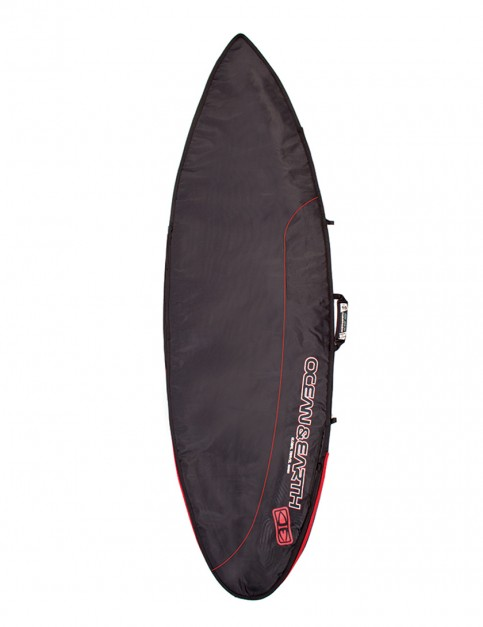 Ocean & Earth Aircon Shortboard surfboard bag 10mm 6ft 4 - Black