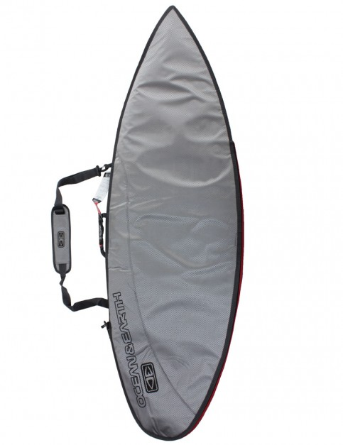 Ocean & Earth New Compact Day Shortboard surfboard bag 5mm 6ft 4 - Surf Silver