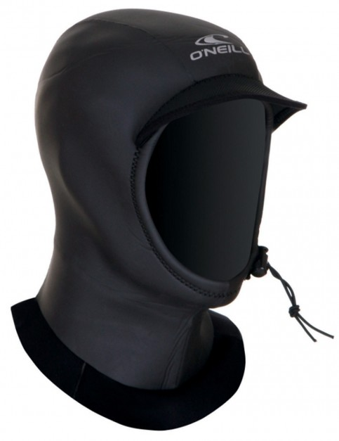 O'Neill UltraSeal 3mm Wetsuit Hood - Black