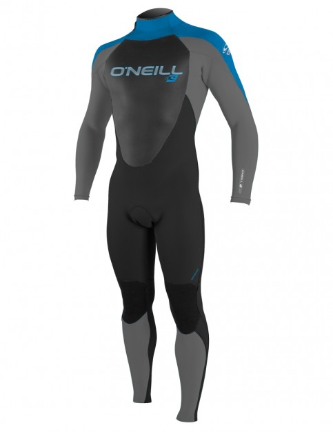 O'Neill Boys Epic 5/4mm wetsuit 2018 - Black/Graphite/Brite Blue