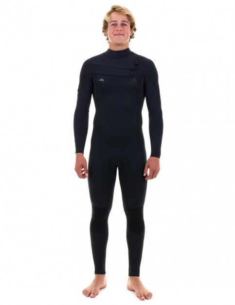 O'Neill HyperFreak Chest Zip 5/4mm wetsuit 2019 - Black/Black