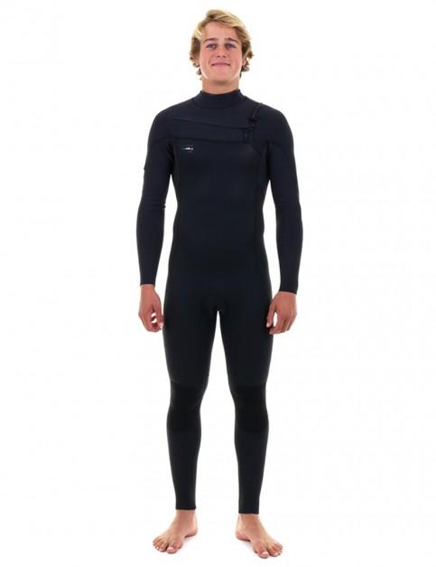 O'Neill HyperFreak Chest Zip 5/4mm wetsuit 2019 - Black/Black