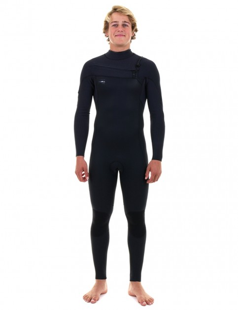 O'Neill Hyperfreak Comp Zipless 3/2mm wetsuit 2018 - Black/Black