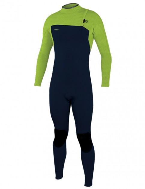 O'Neill HyperFreak Comp Zipless 4/3mm wetsuit 2019 - Abyss/Dayglo
