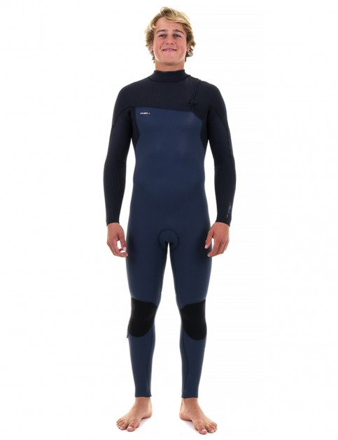 O'Neill HyperFreak Comp Zipless 4/3mm wetsuit - Slate/Black