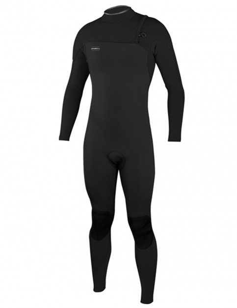 O'Neill HyperFreak Comp Zip Free 5/4mm wetsuit 2019 - Black/Black