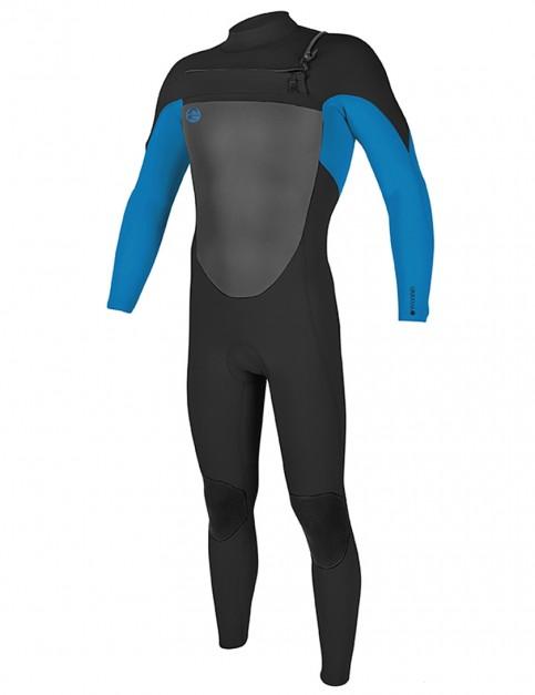 O'Neill O'Riginal Chest Zip 3/2mm wetsuit 2018 - Black/Ocean