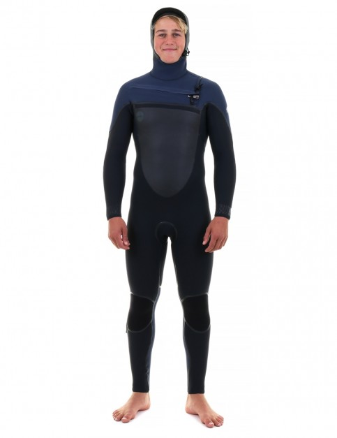 O'Neill Psycho Tech 6/4mm Hooded wetsuit 2018 - Black/Slate