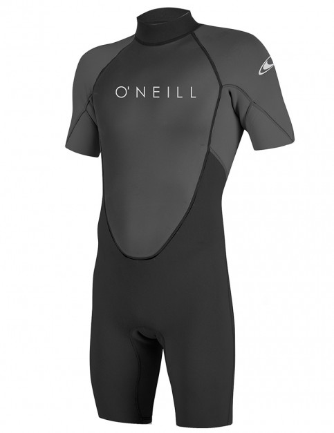 O'Neill Reactor II Shorty 2mm wetsuit 2018 - Black/Graphite