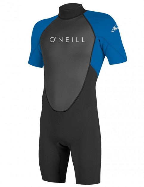 O'Neill Reactor II Shorty 2mm wetsuit 2018 - Black/Ocean