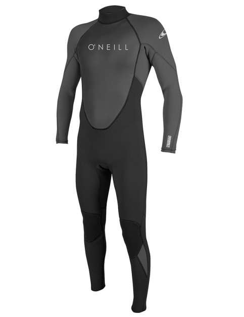 O'Neill Reactor II 3/2mm wetsuit 2019 - Black/Graphite