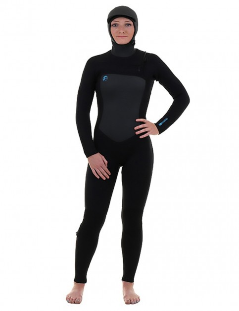 O'Neill Ladies O'Riginal 6/5/4mm Hooded wetsuit 2019 - Black/Black/Black