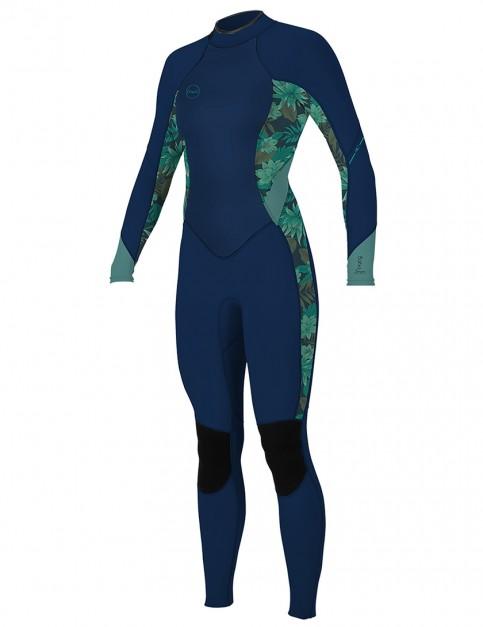 O'Neill Ladies Bahia 3/2mm wetsuit 2019 - Abyss/Faro/Eucalyptus