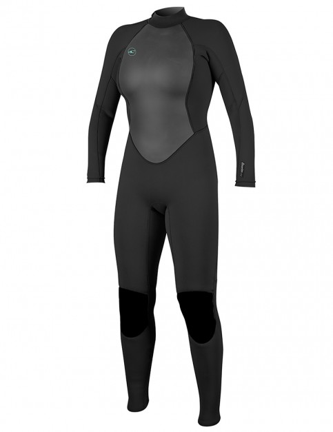 O'Neill Ladies Reactor II 3/2mm wetsuit 2019 - Black/Black