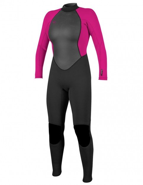 O'Neill Ladies Reactor II 3/2mm wetsuit 2018 - Black/Berry