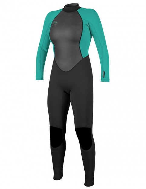 O'Neill Ladies Reactor 3/2mm wetsuit 2018 - Black/Light Aqua