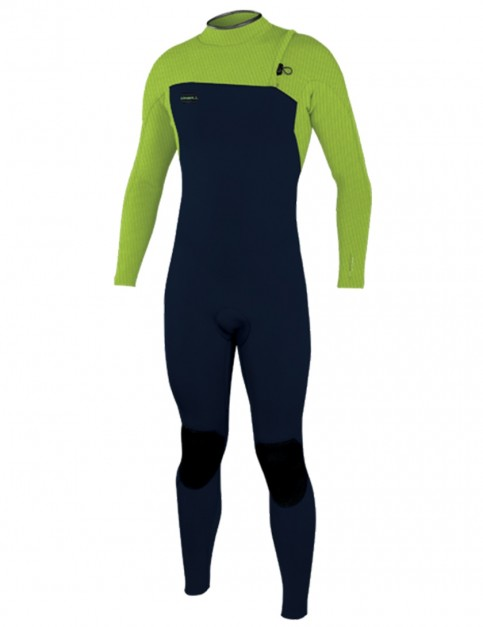 O'Neill Boys Hyperfreak Comp Zipless 4/3mm wetsuit 2019 - Abyss/Dayglo