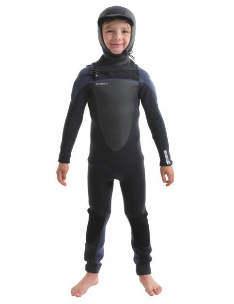 O'Neill Boys Mutant Chest Zip 5/4/3mm wetsuit 2019 - Black/Slate