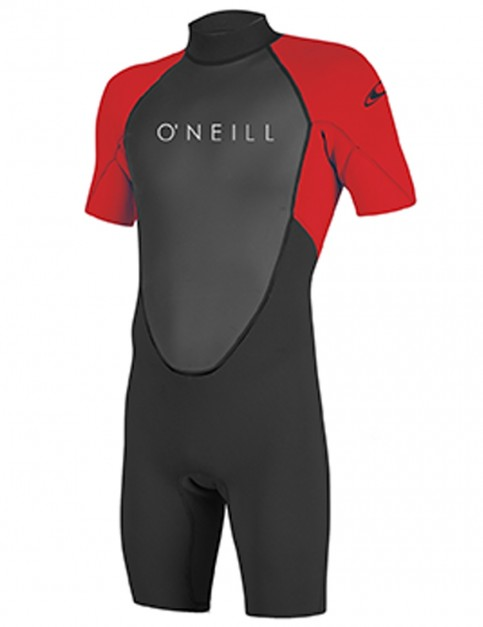 O'Neill Boys Reactor II Shorty 2mm wetsuit 2018 - Black/Red