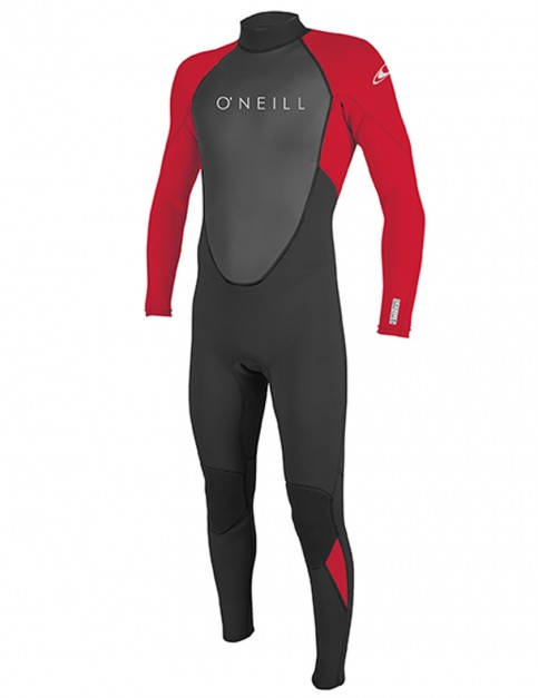 O'Neill Boys Reactor II 3/2mm wetsuit 2018 - Black/Red