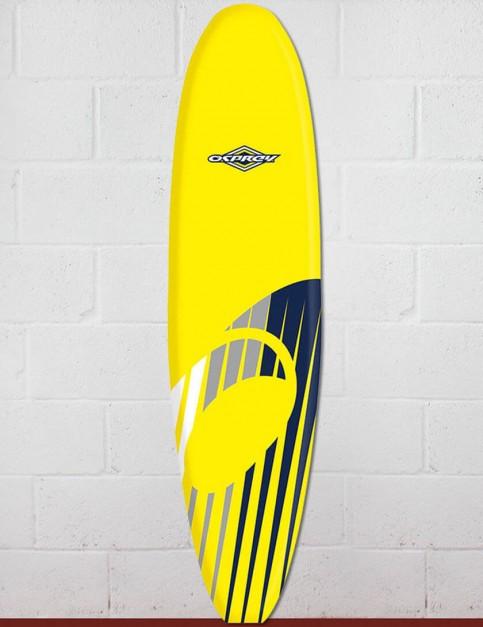 Osprey Mini Mal Foam surfboard 8ft 0 - Shard Yellow