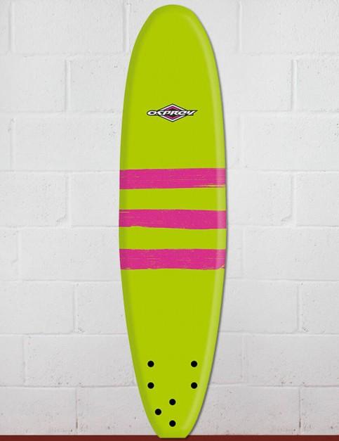 Osprey Mini Mal Foam surfboard 8ft 0 - Triband Green