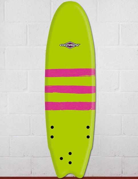 Osprey Fish Foam surfboard 6ft 0 - Triband Green