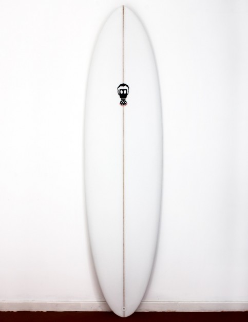 Mark Phipps One Bad Egg surfboard 6ft 6 FCS II - White