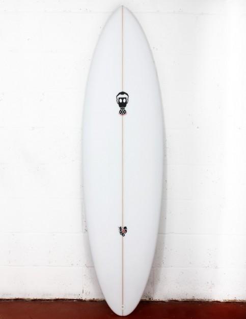 Mark Phipps Yo surfboard 6ft 6 FCS II - White