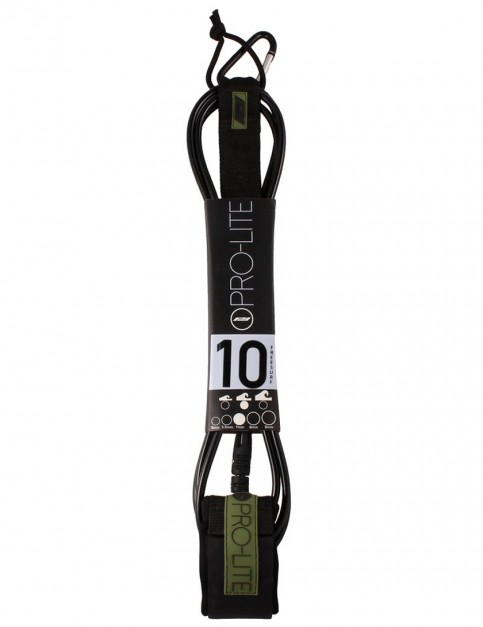 Pro-Lite Freesurf surfboard leash 10ft - Black/Army