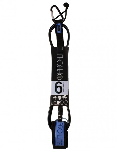 Pro-Lite Freesurf surfboard leash 6ft - Black/Blue