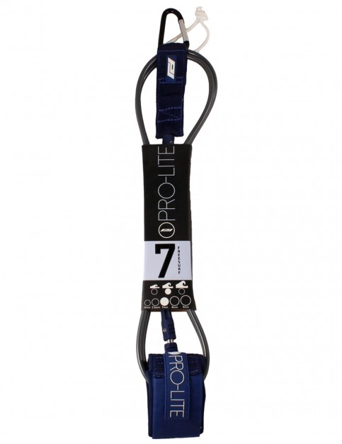 Pro-Lite Freesurf surfboard leash 7ft - Grey/Navy