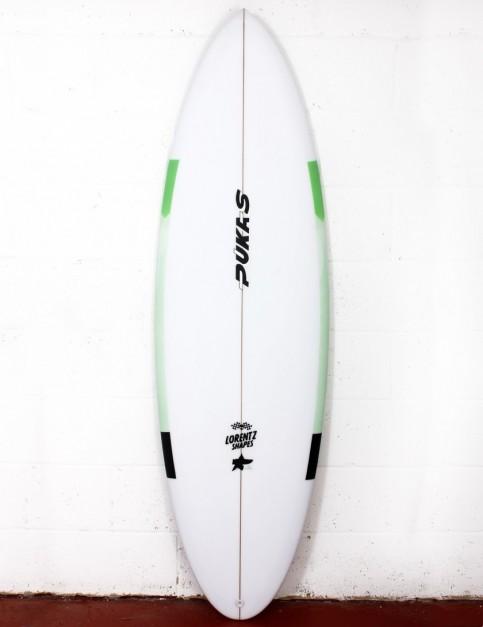 Pukas 69er Step Down surfboard 5ft 11 FCS II - Mint