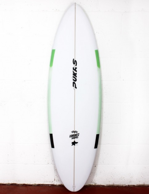 Pukas 69er Step Down surfboard 5ft 10 FCS II - Mint
