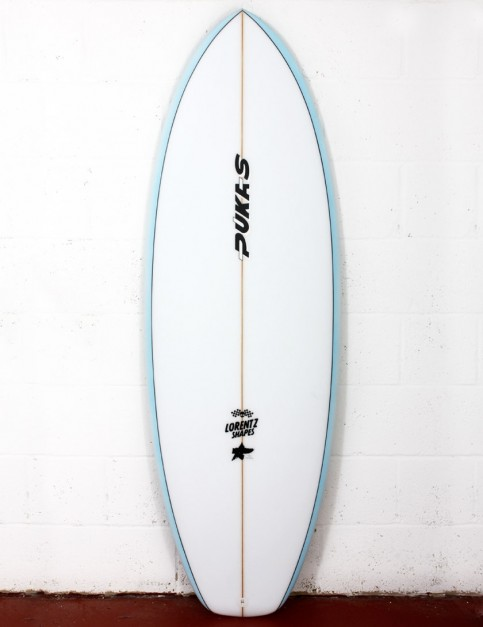 Pukas Heavens Door surfboard 5ft 8 FCS II - Sky Blue