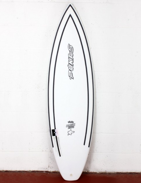 Pukas Tasty Treat surfboard INNCA 6ft 2 FCS II - White