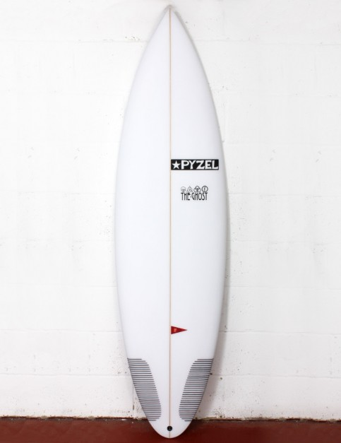 Pyzel Ghost surfboard 5ft 10 Futures - White