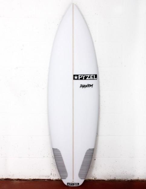 Pyzel Phantom surfboard 5ft 8 Futures - White