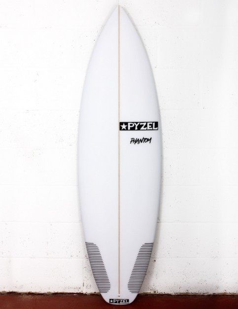 Pyzel Phantom surfboard 6ft 0 FCS II - White