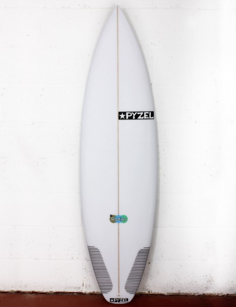 Pyzel Radius surfboard 5ft 10 Futures - White