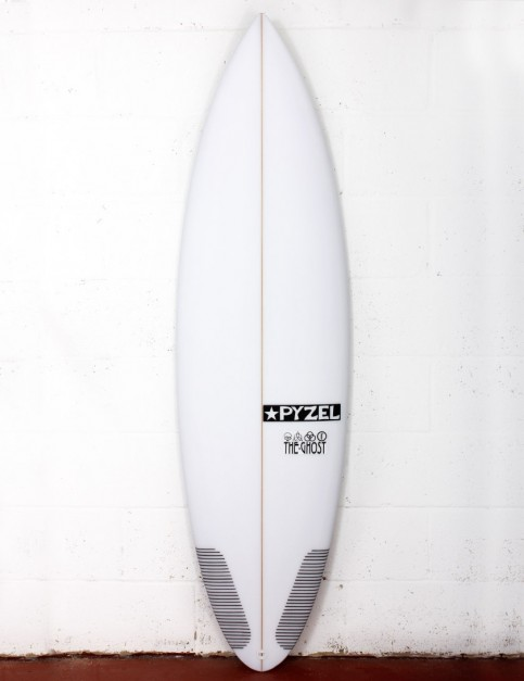 Pyzel Ghost surfboard 6ft 1 Futures - White