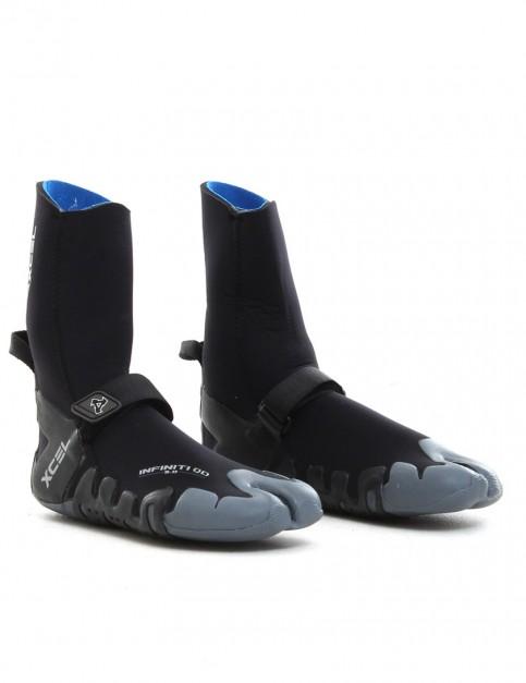 Xcel Wetsuits Infiniti Split Toe 5mm Wetsuit boots - Black
