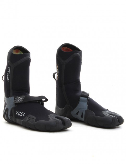 Xcel Wetsuits Drylock Split Toe 5mm Wetsuit boots - Black