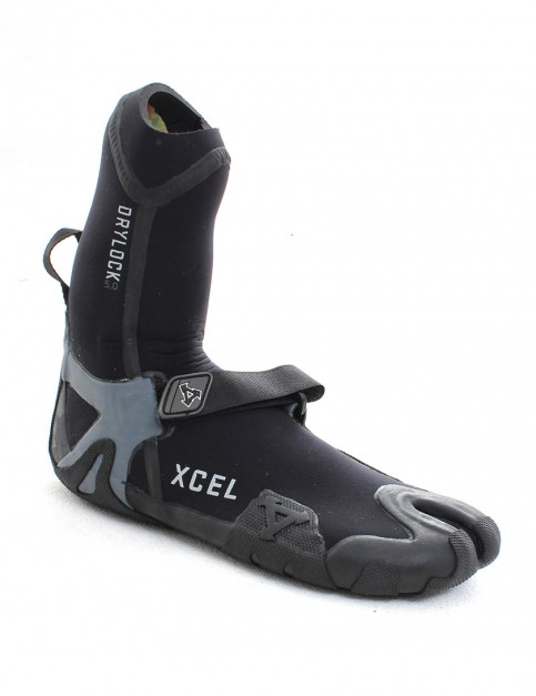 Xcel Drylock Split Toe 5mm Wetsuit Boots - Black