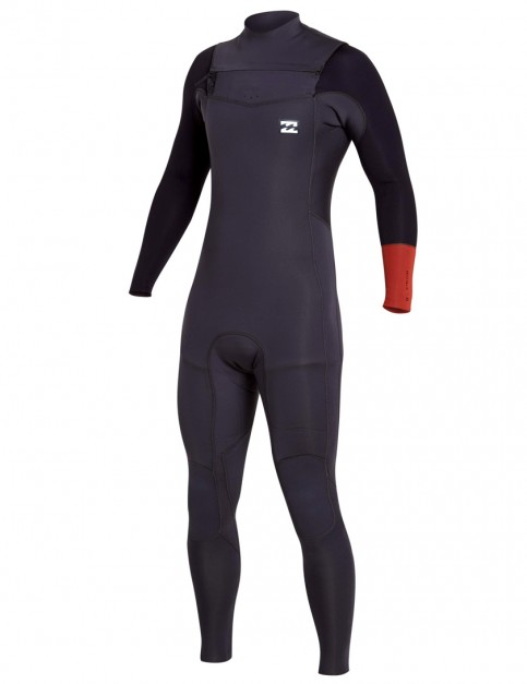 Billabong Revolution Tri Bong Chest Zip 3/2mm Wetsuit 2017 - Rust