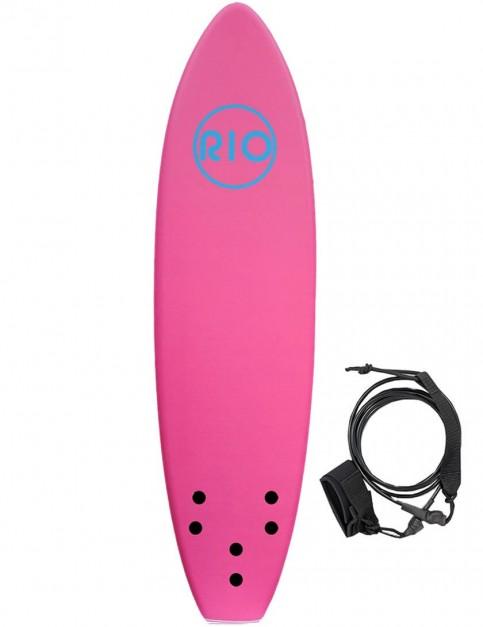Alder Rio Soft Surfboard 6ft - Pink